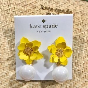 🛍KATE SPADE INTO THE BLOOM VIBRANT LIFE EARRINGS